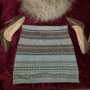 Dresses & Skirts - Tribal Print Mini Skirt